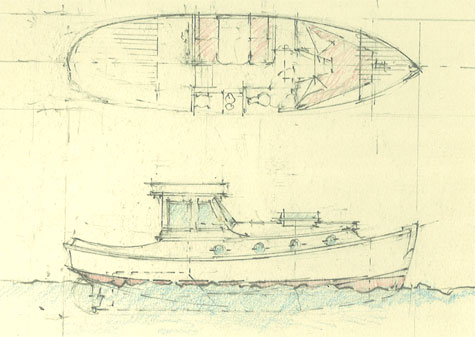 30' raised-deck cruiser