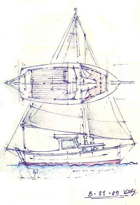 Proudly presenting the traditional boat designs of Klaus Schmitt – Chine bLog