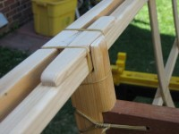 Port-forward inwale-outwale-frame joint