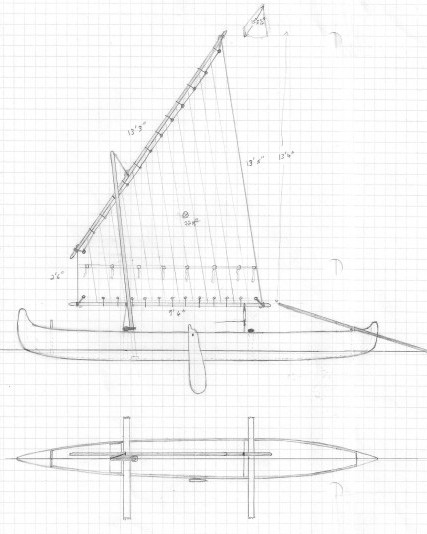 Sail plan for AL DEMANY CHIMAN