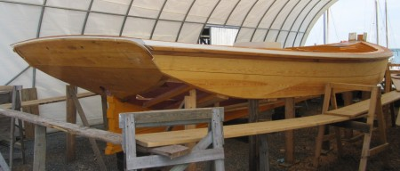 Traditional boat restoration and maintainance at the Chesapeake Bay Maritime Museum boatyard