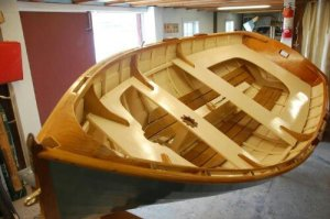Follow-up: the completed North Shore Sailing Skiff