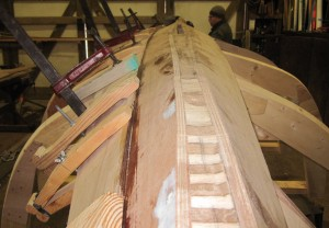 Merlin Yawl with a couple planks