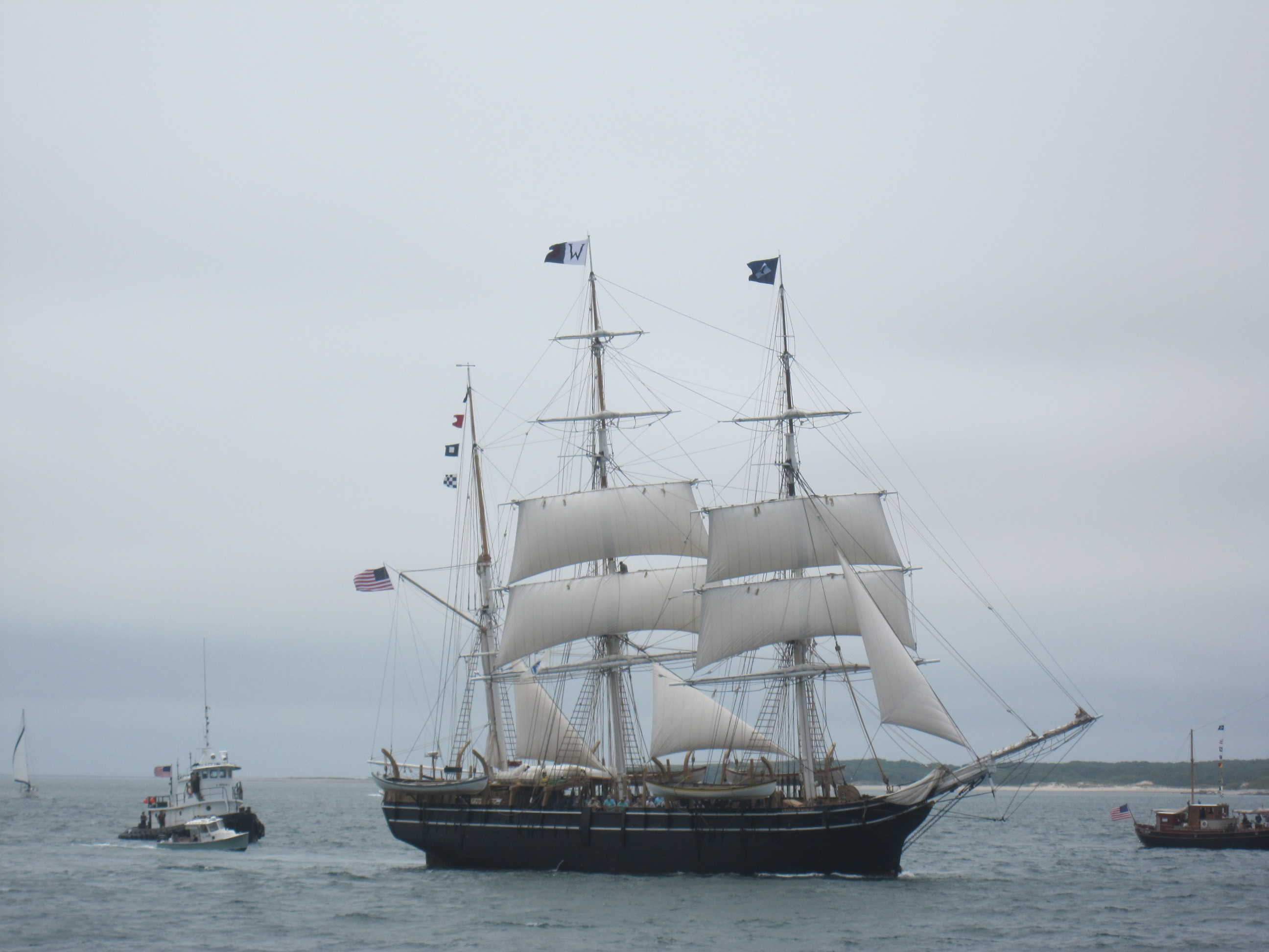 The Charles W. Morgan sails again – the trip home