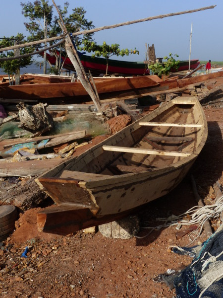 A visit to West Africa – traditional boats of The Gambia ...