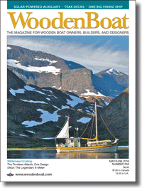 May/June WoodenBoat cover