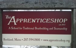 The Apprenticeshop sign