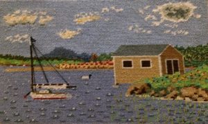 Mr. Chine bLog Sr. needlepoint