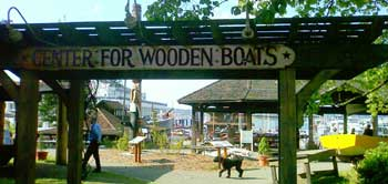 Center for Wooden Boats entrance