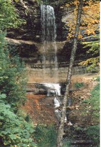 Pictured Rocks National Lakeshore - Munising Falls
