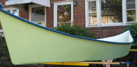 Peace Canoe side view