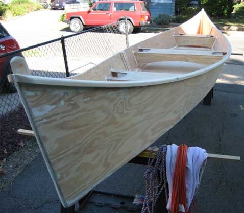 Peace Canoe,ready to paint