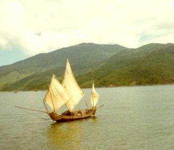 Ghe Nang sailboat