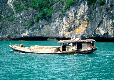 Cargo Boat,Ha Long